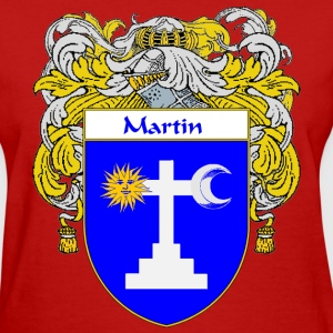 Martin Coat of Arms/Family Crest - Women's T-Shirt