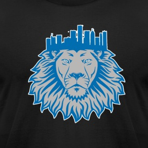 Detroit Crown T-Shirts - Men's T-Shirt by American Apparel