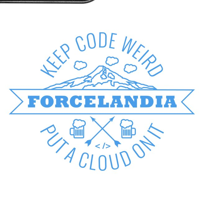 Forcelandia iPhone 7 Plus Rubber Case