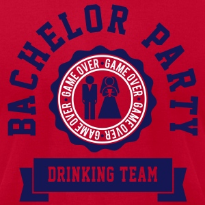 Bachelor Party Drinking Team T-Shirts - Men's T-Shirt by American Apparel