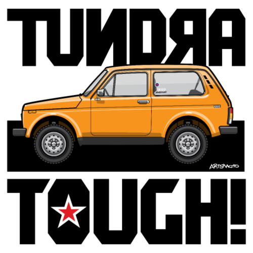 4x4 Niva Tundra Tough!