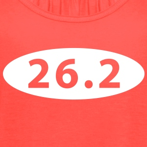 26.2 marathon Tanks - Women's Flowy Tank Top by Bella