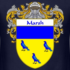Marsh Coat of Arms/Family Crest - Men's T-Shirt