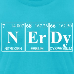 periodicnerdy T-Shirts - Men's T-Shirt by American Apparel
