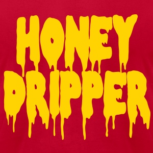 Honey Dripper T-Shirts - Men's T-Shirt by American Apparel