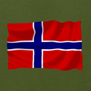 Norway flag - Men's T-Shirt by American Apparel