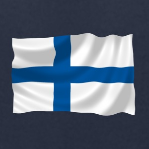 Finland Flag - Men's T-Shirt by American Apparel