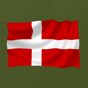 Denmark Flag - Men's T-Shirt by American Apparel