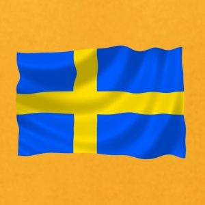Sweden flag - Men's T-Shirt by American Apparel
