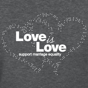 Love is Love, Support Marriage Equality Women's T-Shirts - Women's T-Shirt