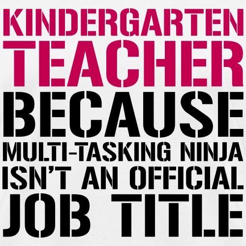 Kindergarten Grade Ninja Teacher Funny