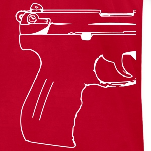 Pistol, rifle, revolver, gun, shotgun, p99, mg,  T-Shirts - Men's T-Shirt by American Apparel