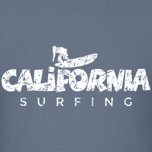 California Surfing Distressed White