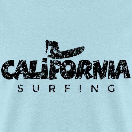 California Surfing Distressed Black