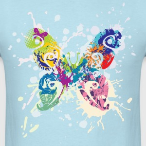 Butterfly Art T-Shirts - Men's T-Shirt
