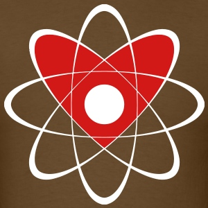 atom_heart T-Shirts - Men's T-Shirt