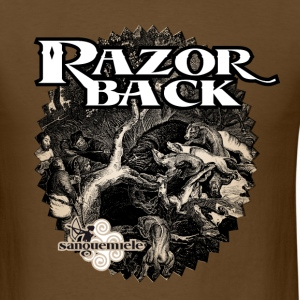 black_wildboar T-Shirts - Men's T-Shirt