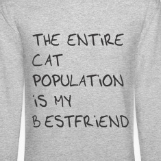 The entire cat population is my bestfriend