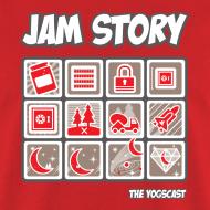 Design ~ Mens Tee: Jam Story