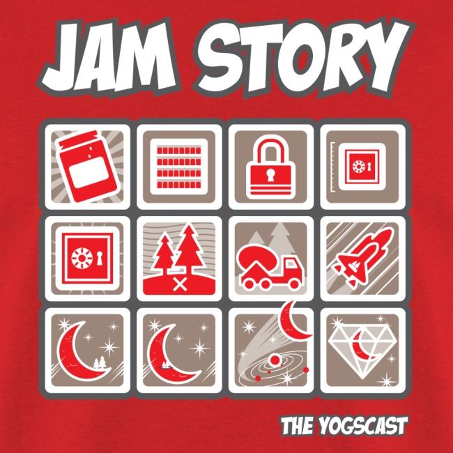 Mens Tee: Jam Story