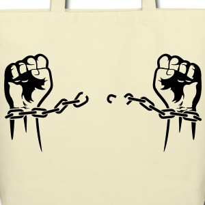Breaking Chaines (1c)++ Bags  - Eco-Friendly Cotton Tote