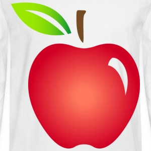 Apple Fruit (dd)++ Long Sleeve Shirts - Men's Long Sleeve T-Shirt