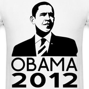 Obama 2012 Classy Design T-Shirts - Men's T-Shirt