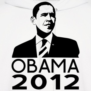 Obama 2012 Classy Design Hoodies - Men's Hoodie