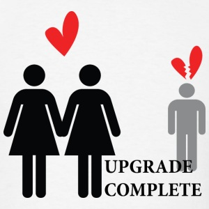 Lesbian Upgrade T-Shirts - Men's T-Shirt