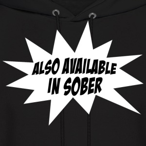 Also Available In Sober Funny Design Hoodies - Men's Hoodie