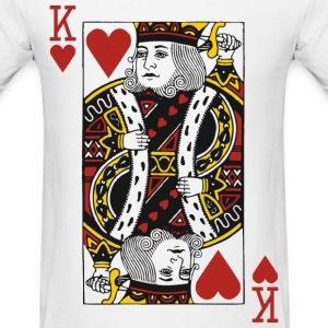 King of Hearts T-Shirts - Men's T-Shirt