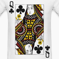 Queen of Clubs T-Shirts