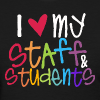 Love My Staff and Students - Women's T-Shirt
