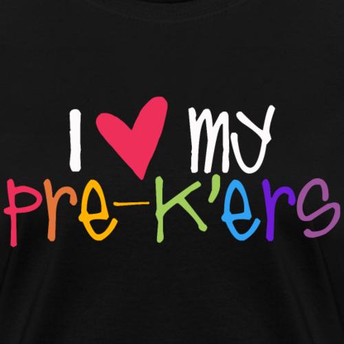 I Love My Pre-K'ers