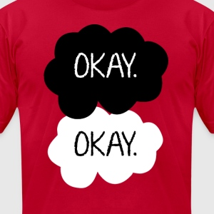 Okay.  T-Shirts - Men's T-Shirt by American Apparel