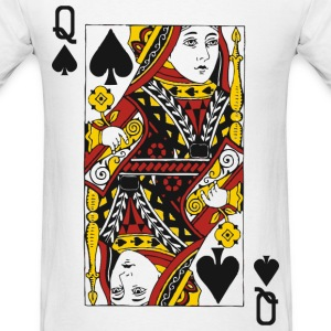 Queen of Spades T-Shirts - Men's T-Shirt