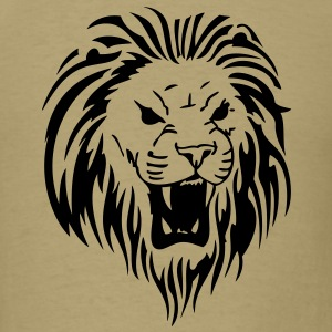 Lion Head T-Shirts - Men's T-Shirt