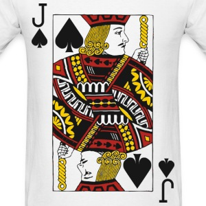 Jack of Spades T-Shirts - Men's T-Shirt