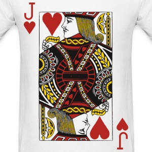 Jack of Hearts T-Shirts - Men's T-Shirt
