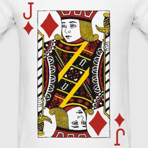 Jack of Diamonds T-Shirts - Men's T-Shirt