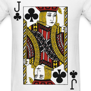Jack of Clubs T-Shirts - Men's T-Shirt