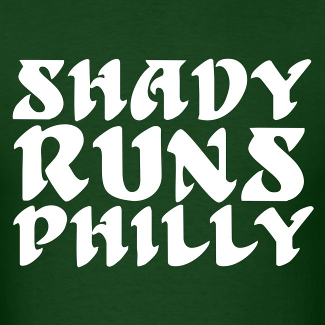 Shady Runs Philly Shirt