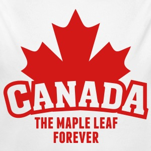 CANADA, THE MAPLE LEAF FOREVER Baby & Toddler Shirts - Long Sleeve Baby Bodysuit
