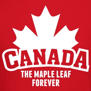 CANADA, THE MAPLE LEAF FOREVER Long Sleeve Shirts - Crewneck Sweatshirt