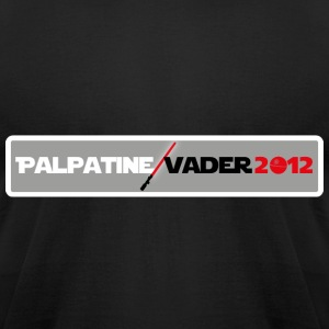 Palpatine Vader 2012 v1 - Men's T-Shirt by American Apparel