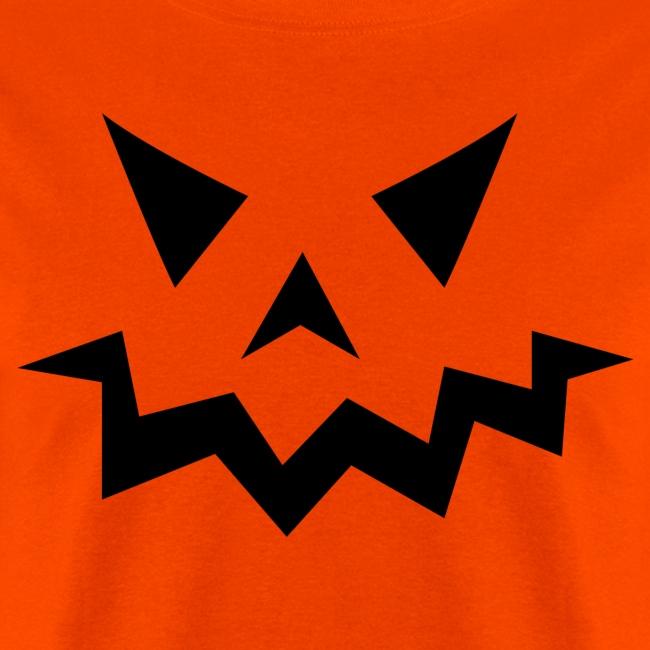 Men's t-shirt * Jack-o'-lantern (pumpkin face 1)