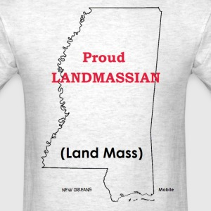 Land Mass T-Shirts - Men's T-Shirt