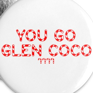 'You Go Glen Coco' Travel Mug - Large Buttons