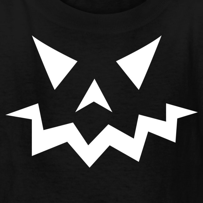 Kids t-shirt * Jack-o'-lantern (pumpkin face 1)