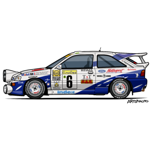 Escort RS Cosworth Group A Rally Monte Carlo